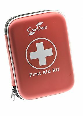 90 Piece Premium First Aid Kit in Hard Shell Case Home Travel First Air Kit  New