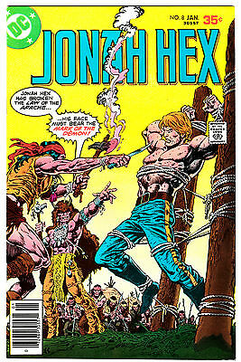 JONAH HEX #8 (VF+) Origin Story! Face Disfigurement Explained! Vintage DC 1978