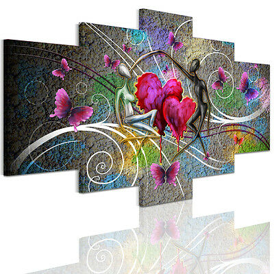 Unframed Canvas Prints Modern HomeDecor Wall Art Picture-Abstract Dancing Lovers