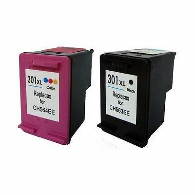 301XL NERO + COLORE COMPATIBILE X HP 301 XL CH563EE CH564EE DeskJet 2540