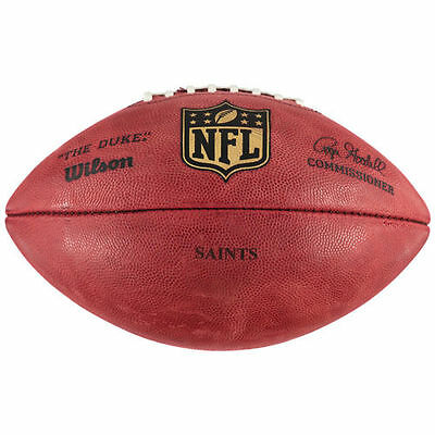"New Orleans Saints Wilson ""The Duke"" Official Size Replica Game Football - NFL"