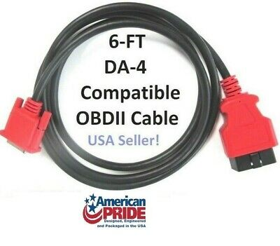 6FT J1962 OBDII OBD2 Cable Compatible with Snap-on J2534 Pass Thru