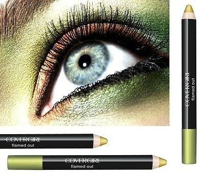Covergirl Flamed Out Shadow Pencil -315 Lime Green- new