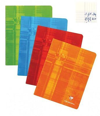 Clairefontaine Staplebound Notebook - French Ruled, 8.25x11.75