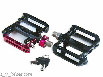 Xpedo TRAVERSE QRD XCF10 MTB Lock Function Pedals Black / Red XCF10