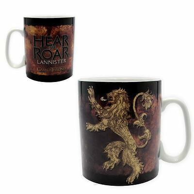 Game of Thrones 460 ml Large Porcelain Lannister Mug