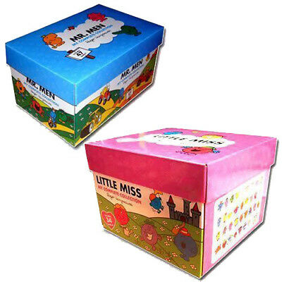 The Complete Collection Little Miss & Mr Men 81 Books Box Set New Paperback Tick