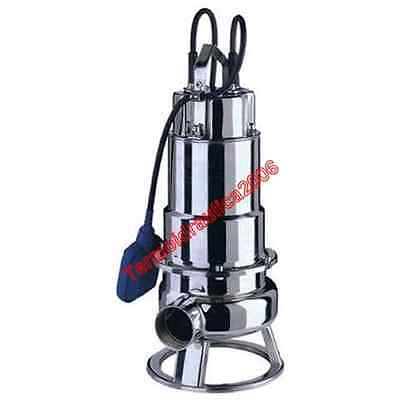Waste Water Submersible Electric Pump DW100MA EBARA0,75kW 230V 50Hz Float Steel
