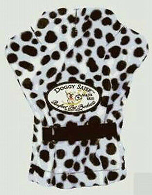 Doggy Sajer Vibrating Pet Mitt Massager  - White Leopard Color - + FREE SHIPPING
