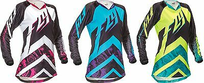 Fly Racing 2016 Kinetic MX ATV BMX Jersey Women Youth All Sizes All Colors