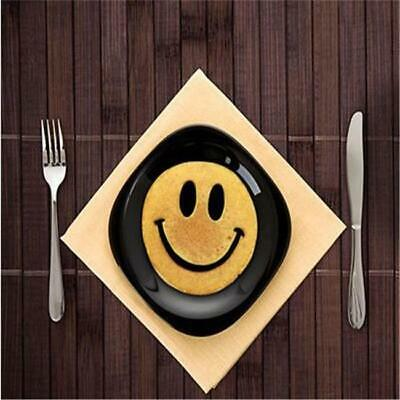 Silicone Big Smile Smiley Happy Face Egg Pancake Mold Mould Kitchen Tools - CB
