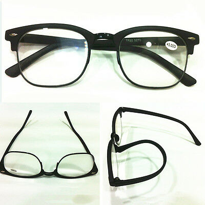2016 New Style Hot Sale Mens Fashion Retro Full-Frame Reading Glasses 1.0 To 4.0