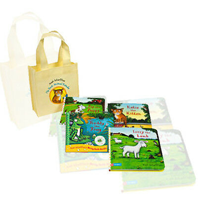 My First Animal Friends Collection 4 Books Set By Axel Scheffler,Pip the Dog,New