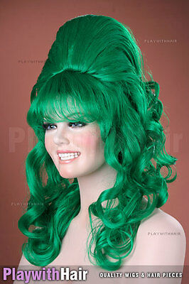 Bouncy Layered Beehive Wig - COLOUR CHOICES!