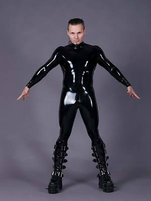 Latex Catsuit, Rubber Latex Herren Catsuit, Gr:xs - Xxl