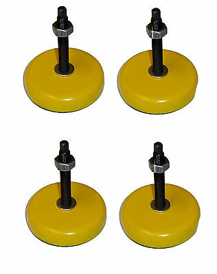 Rdgtools 40Mm Anti Vibration Machine Pads (Set Of 4) Lathe Engineering
