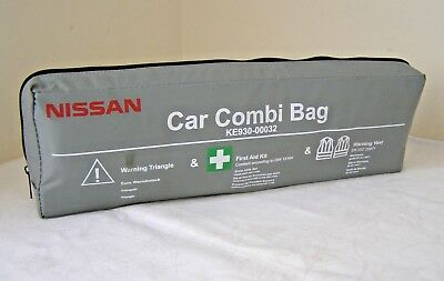 Authentic NISSAN Juke Qashqai X-Trail Note Emergency First Aid Car Kit ~ RRP £32