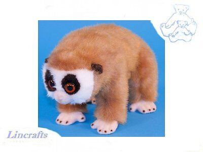Slow Loris Plush Soft Toy by Dowman Soft Touch. 24cm RB641