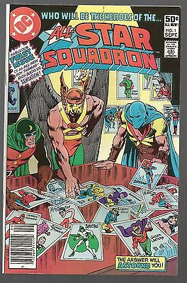 All-Star Squadron #1 (Sep 1981, DC) Justice Society of America  f1
