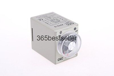 AH3-3 AC DC Power on Delay Timer Time Relay 8 Pin 24V 3min