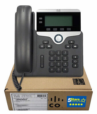 Cisco 7821 IP VolP Phone Telephone (CP-7821-K9) - NEW