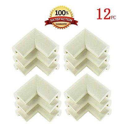 KINGLAKE® 12 Pcs Cushiony Corner Guards Baby Safety Protectors Corner Bumpers