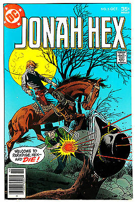 JONAH HEX #5 (VF) 1st Jonah Hex! reprints All-Star Western #10 DC 1977