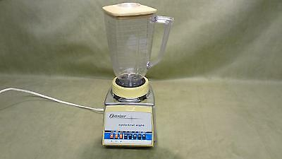Vintage retro Osterizer cyclo trol eight speed blender kitchen home collectible