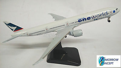 18cm 1:400 Cathay Pacific Airlines 777 Airplane Diecast Plane Toy Model