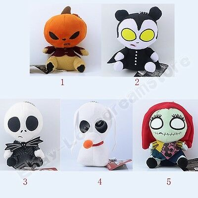 Nightmare Before Christmas Jack/Sally/Pumpkin King/Zero Dog Soft Plush Doll Toy