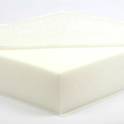 132 x 71 x 10 cm Foam Safety Cot Bed Mattress - CUSTOM MADE - MADE IN THE UK