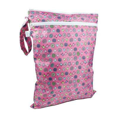 Hippychick Bumkins Wet / Dry Bag (Love Birds) Dual Compartment Waterproof Pouch