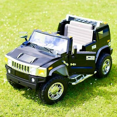 Licensed 12v Hummer H2 Electric Battery Ride On Jeep - 2 Colours