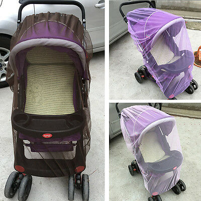 New Baby Stroller Mosquito Net Universal Infant Pushchair Insect Mesh Pram Cover