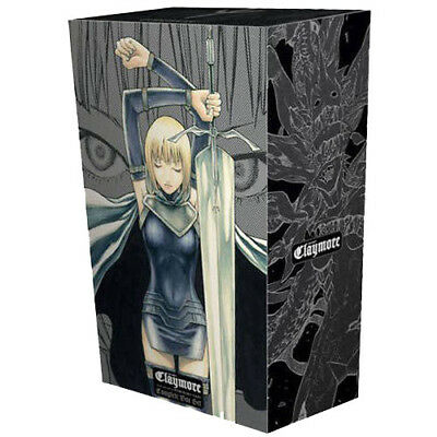 Claymore Volume 1-27 Complete Box Set Collection By Norihiro Yagi New Paperback