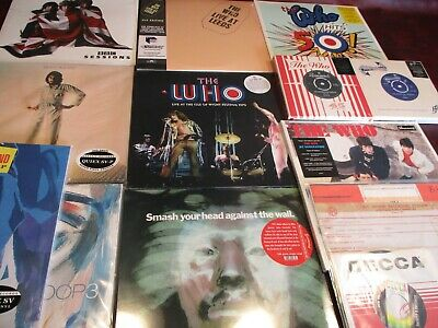 The Who Box Set + Singles + Bbc +Wight 70 + Townshend & Entwistle Solos +45S Set