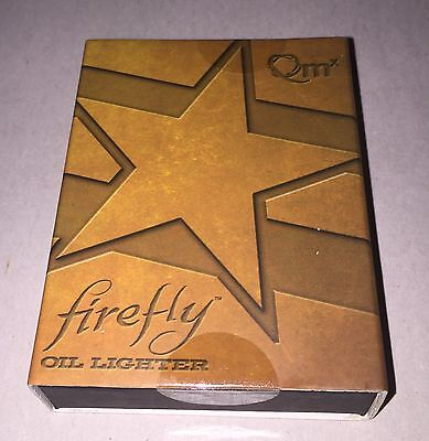 Firefly Serenity QMX Independents Brass Lighter New in Stock