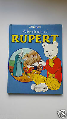 St Michael Adventures of  Rupert  Rupert The Bear Annual 1981  Nice!