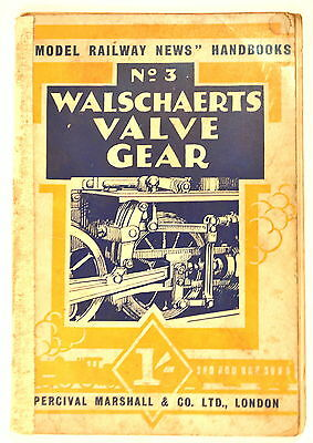 WALSCHAERTS' VALVE GEAR FOR WORKING MODELS by Greenley 4 model live steam myford
