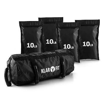 Borsa Sand Bag Sacca Pesi Regolabile 18Kg Power Sollevamento Core Palestra Top!