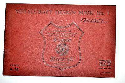 METALCRAFT DESIGN BOOK  #1 by J. & C.R. Wood Mfg. #RB53 projects Wrought Iron