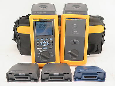 Fluke Networks DSP-4100 Cable Analyzer w/ DSP-4100SR Smart Remote ACCESSORIES