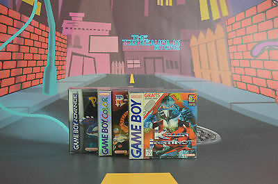 10 X Cajas Protectoras Fundas Game Boy Gameboy Gba Gbc Snug Fit Box Protectors