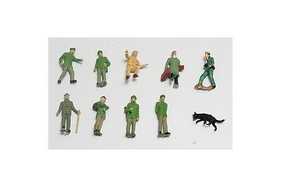 H0 1:87 Lote figuras oficiales guardias L11265 figures official