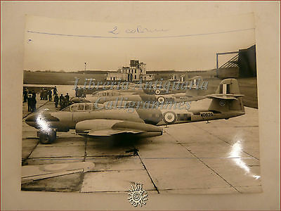 New R.A.F. METEOR NF11 Night Fighters Caccia Inglesi WWII Squadron West Malling