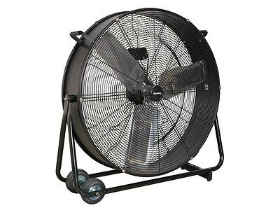 Sealey HVD30 230v Industrial High Velocity Drum Fan 30in