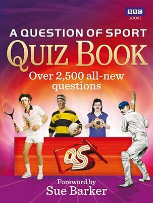 A Question of Sport Quiz Book, , New condition, Book