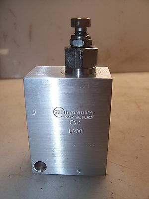 "New Sun 1/2"" Port Hydraulic Relief Valve Aluminum Body 8G08"