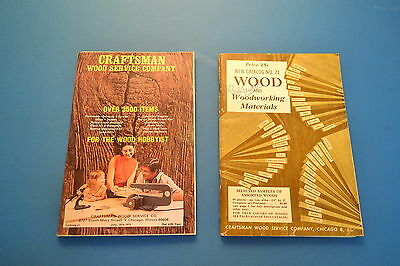 Craftsman Wood Service Company Group Lot (Jrw #091)