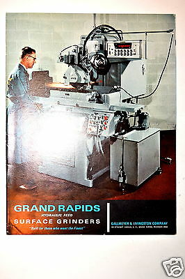 Gallmeyer & Livingston: Grand Rapids Hydraulic Feed Surface Grinders 1967 Rr288